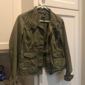 Green/ khaki military style jacket